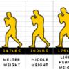ボクシングの階級表