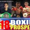 2018年フィリピン期待のボクサー ベスト5!