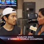 井岡一翔選手へのインタビュー