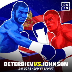 アルツール・ベテルビエフ vs カラム・ジョンソン
