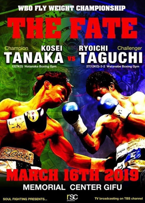 【2019-3-17】田中恒成 vs 田口良一 WBO世界フライ級タイトルマッチ 詳報
