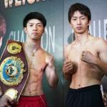 WBO世界フライ級タイトルマッチ 田中 恒成 vs 田口 良一