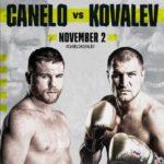 DAZNボクシング【2019年11月3日】セルゲイ・コバレフ vs サウル・カネロ・アルバレス