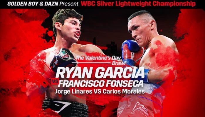 DAZNボクシング【2020年2月15日】ライアン・ガルシア vs フランシスコ・フォンセカ【ライト級12回戦】